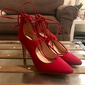 Red New York & Company Heels